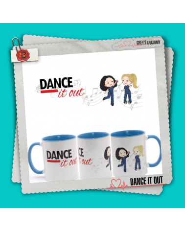 Mug Dance it Out Grey's Anatomy