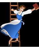 Красавицата и Звяра: Изгубена в книга