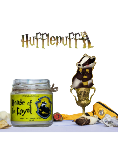 Scented Candle Hufflepuff, Harry Potter