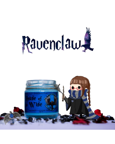 Scented Candle Ravenclaw, Harry Potter