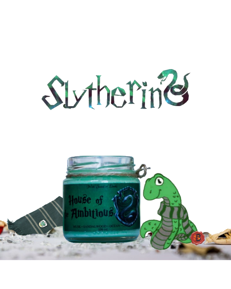 Scented Candle Slytherin, Harry Potter