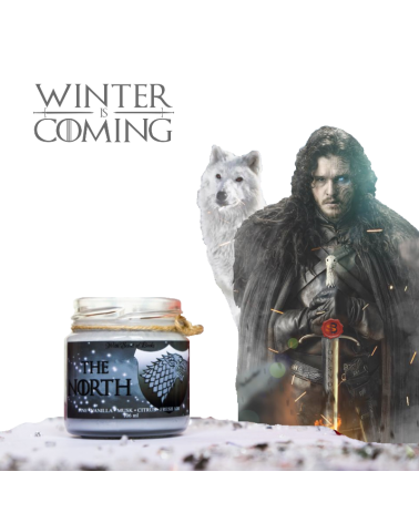 Scented Candle Stark, Game of Thrones