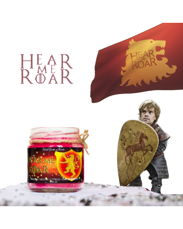 Scented Candle Hear me roar, Game of Thrones