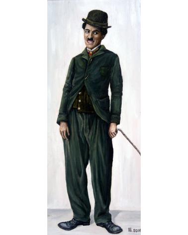 Портрет на Чарли Чаплин 1 / Григор Велев