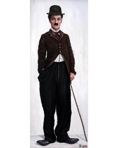 Портрет на Чарли Чаплин 2 / Григор Велев