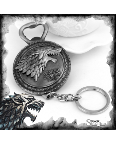 Bottle Opener KeychainWinter is coming, Game of thrones