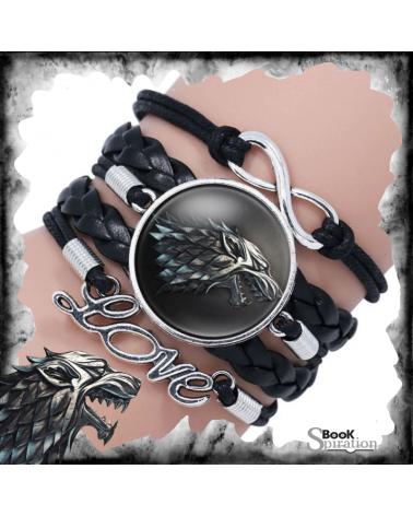 Черна кожена гривна Старк, Игра на тронове