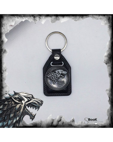 Keychain rubber Stark wolf, Game of thrones