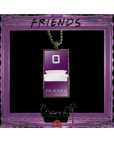 Friends purple Necklace