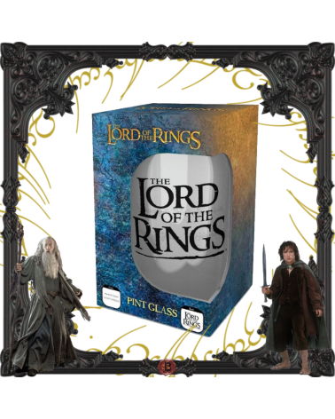 Lord of Rings Large Glass
