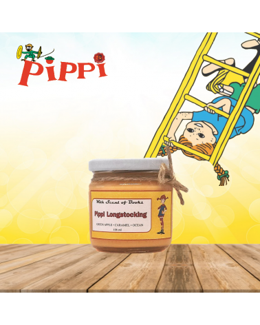 Scented Candle Pippi Longstocking