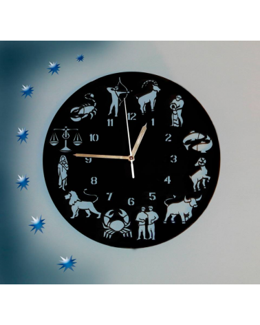 Wall Clock Zodiac