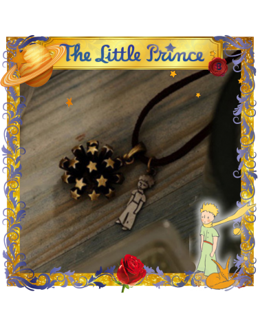 The Little Prince Planet Necklace