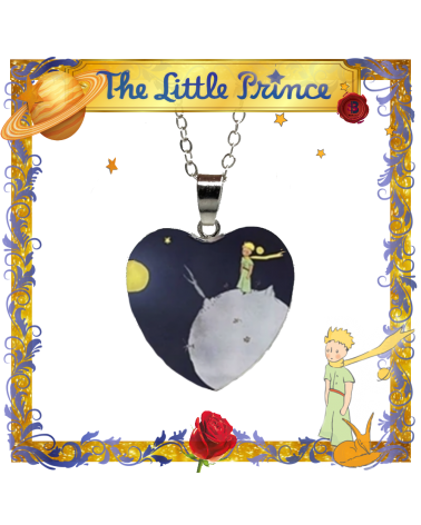 The Little Prince heart Pendant Necklace