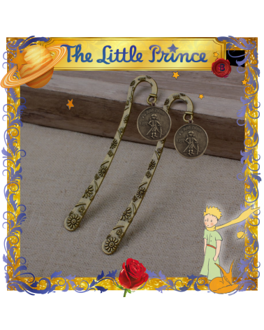 Metal vintage bookmark Little Prince