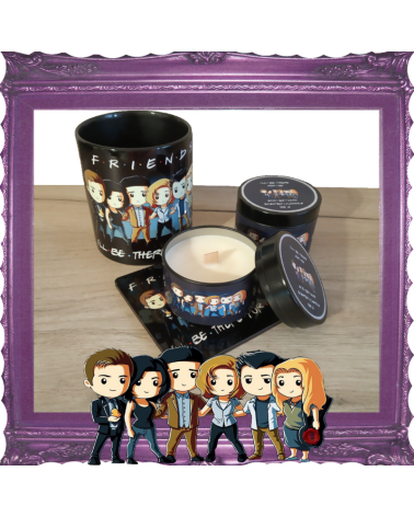 Scented Candle I'll be there for you Friends