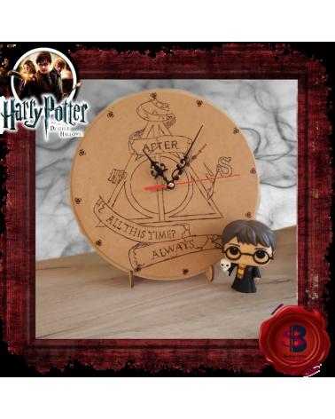 Дървен Стенен Часовник Always, Хари Потър