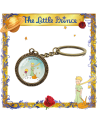 Винтидж Ключодържател Малкият принц, лисицата и розата