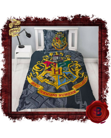 Harry Potter Hogwarts Single Duvet Set