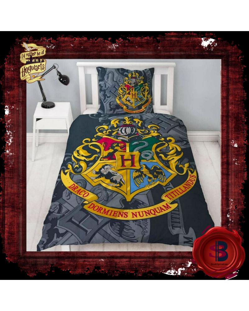 Двулицев Спален комплект Хогуортс, Хари Потър