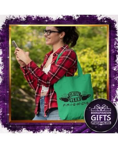Зелена текстилна чанта Central Perk, Приятели