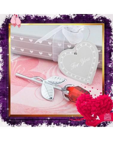 Мини декоративна роза в подаръчна кутийка
