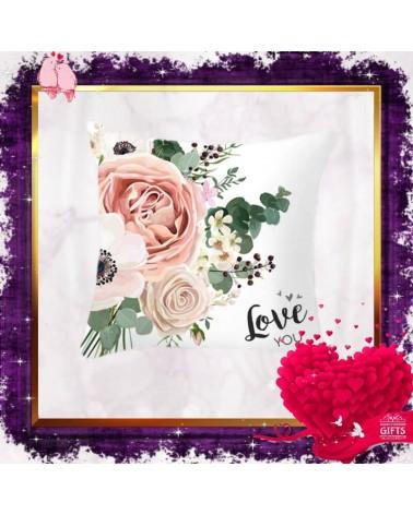 Калъфка за декоративна възглавничка Love You