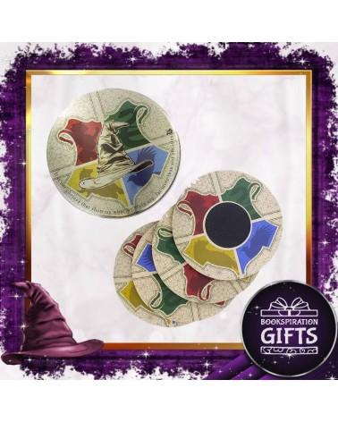 Комплект кръгли подложки за чаши Разпределителната шапка