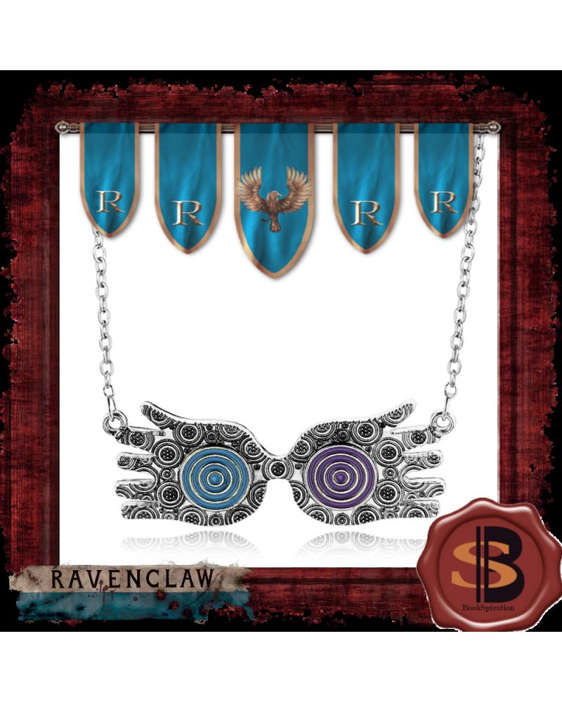 Luna Lovegood Glasses necklace, Harry Potter