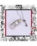 Necklace Drink me Bottle, Alice in Wonderland
