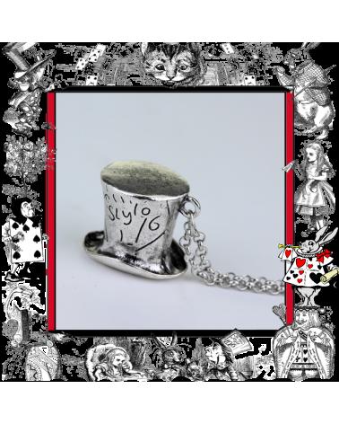 Mad Hatter Hat Necklace, Alice in Wonderland