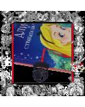 Метален книгоразделител Алиса в страната на чудесата