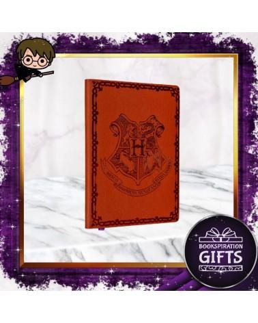 Тефтер с кожени корици Хогуортс, Хари Потър