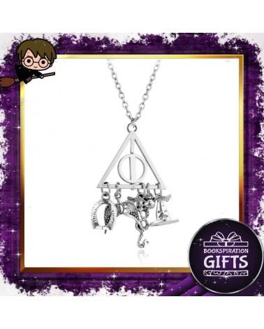 Колие Даровете на смъртта със символи Хари Потър