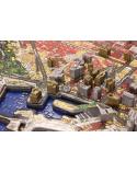 4D Cityscape Puzzle Barcelona